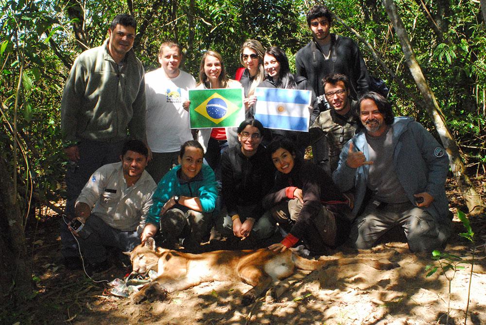 4 - Pesquisadores dos dois parques nacionais (Iguacu e Iguazu)