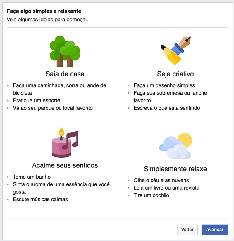 campanha facebook